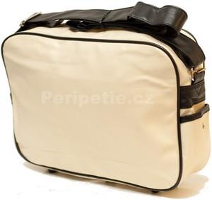 70sUp - Retro taška 1 - Taška přes rameno - Bílá
