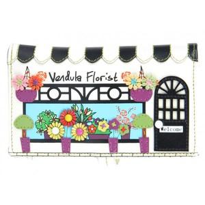 Vendula London - Florist - Peněženka střední - Bílá