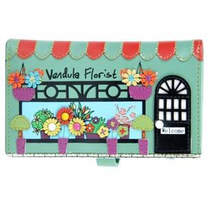 Vendula London - Florist - Peněženka střední - Tyrkysova