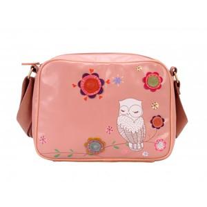 Vendula - Snowy Owl - Taška přes rameno - Różowa