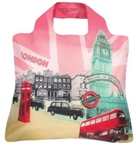 Envirosax - Skládací Nákupní Taška - Travel - London