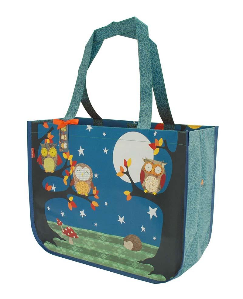 Santoro London - Nákupní taška - Night Owls Modrá;Modrá