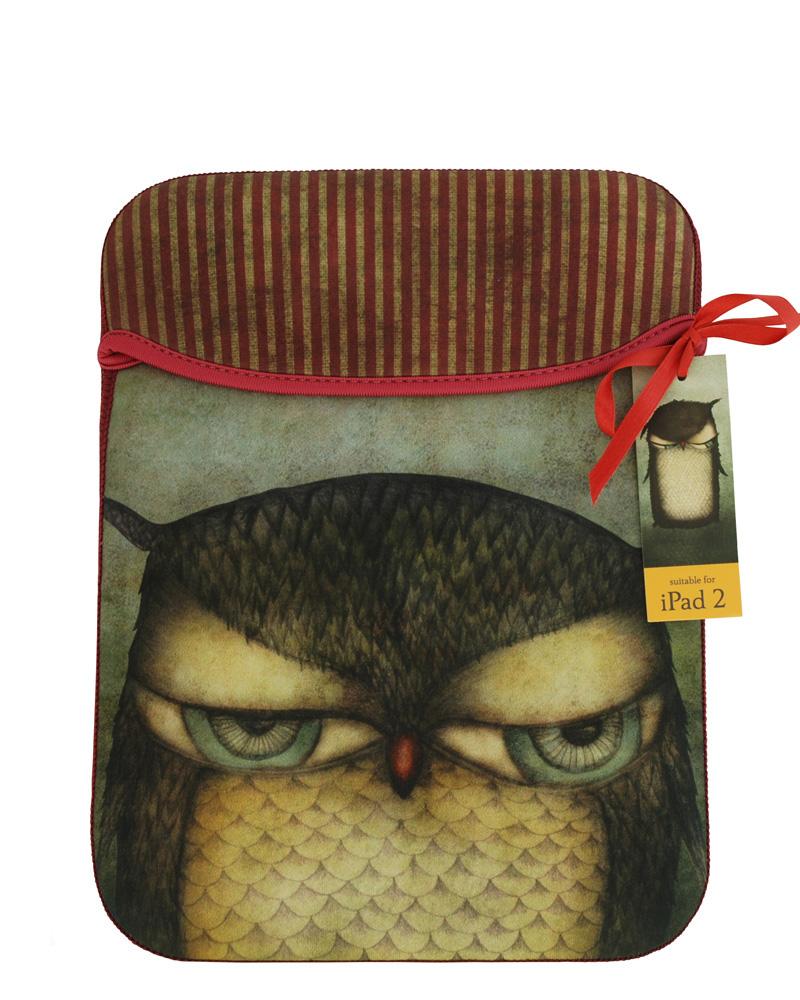 Santoro London - Pouzdro iPad - Grumpy Owl