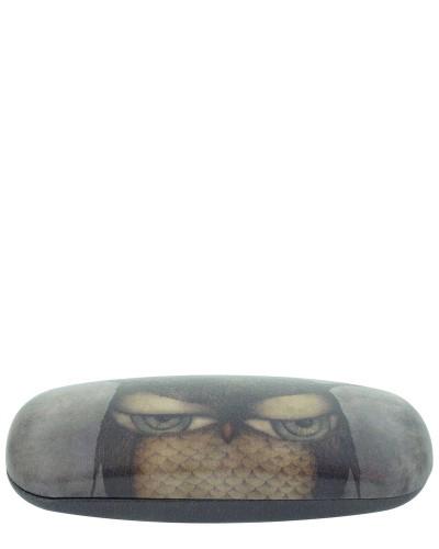 Santoro London - Pouzdro na brýle - Grumpy Owl Černo - Šedá;Černo - Šedá