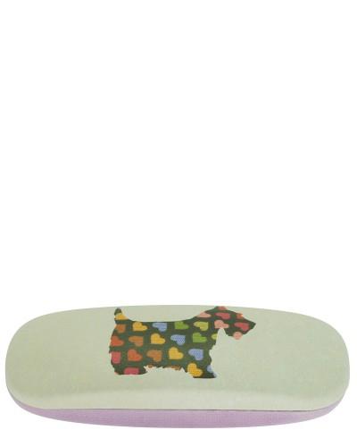 Santoro London - Pouzdro na brýle - Scottie Dogs Bílo - růžová;Bílo - růžová