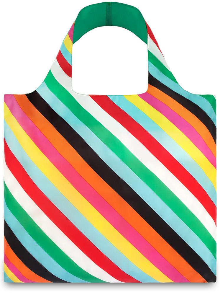 LOQI - Skládací Nákupní Taška - POP - Stripes