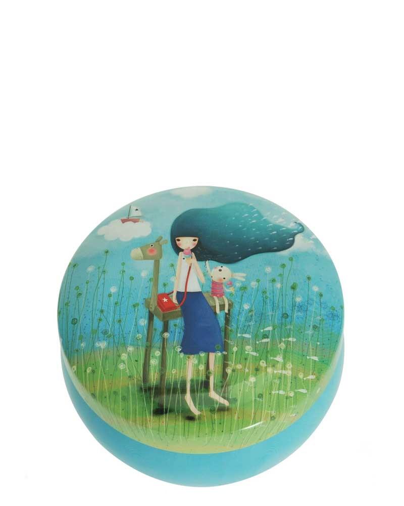 Santoro London - Kualtá Dekorativní krabička - Kori Kumi - Beyond The Sea