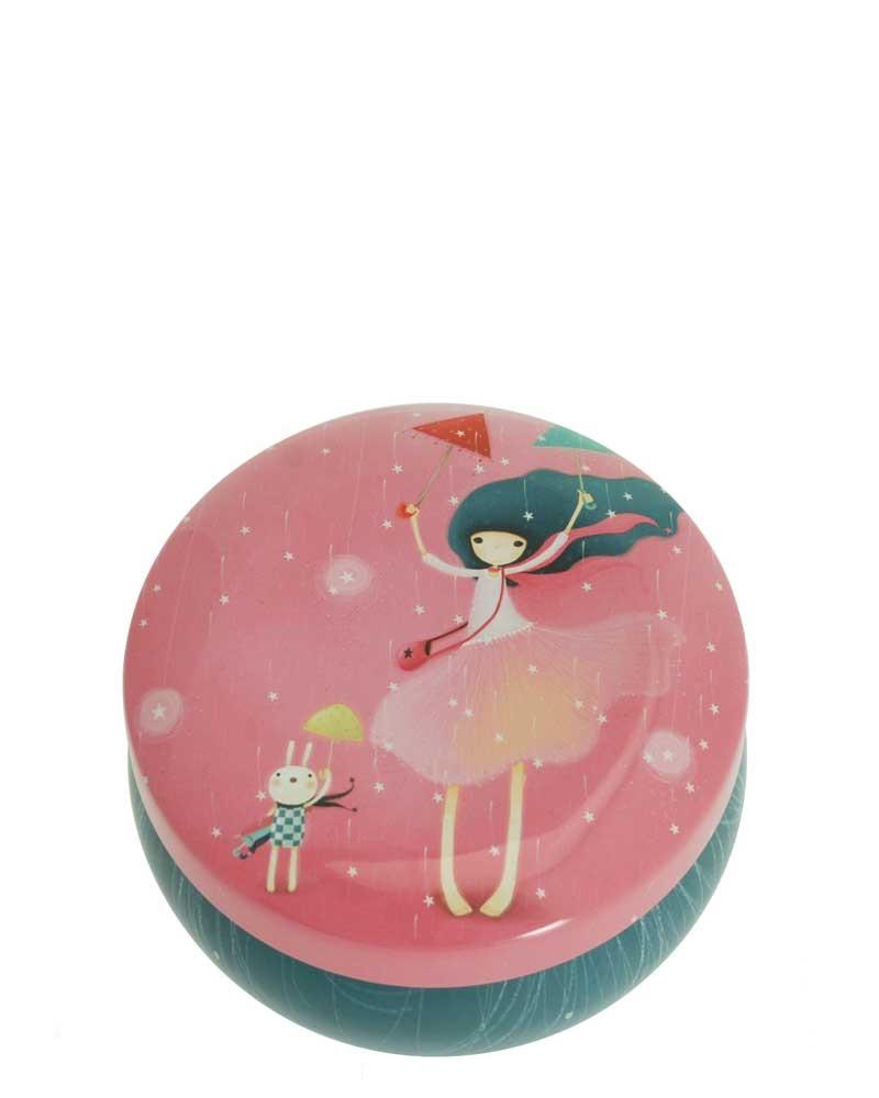 Santoro London - Kualtá Dekorativní krabička - Kori Kumi - Under My Umbrella