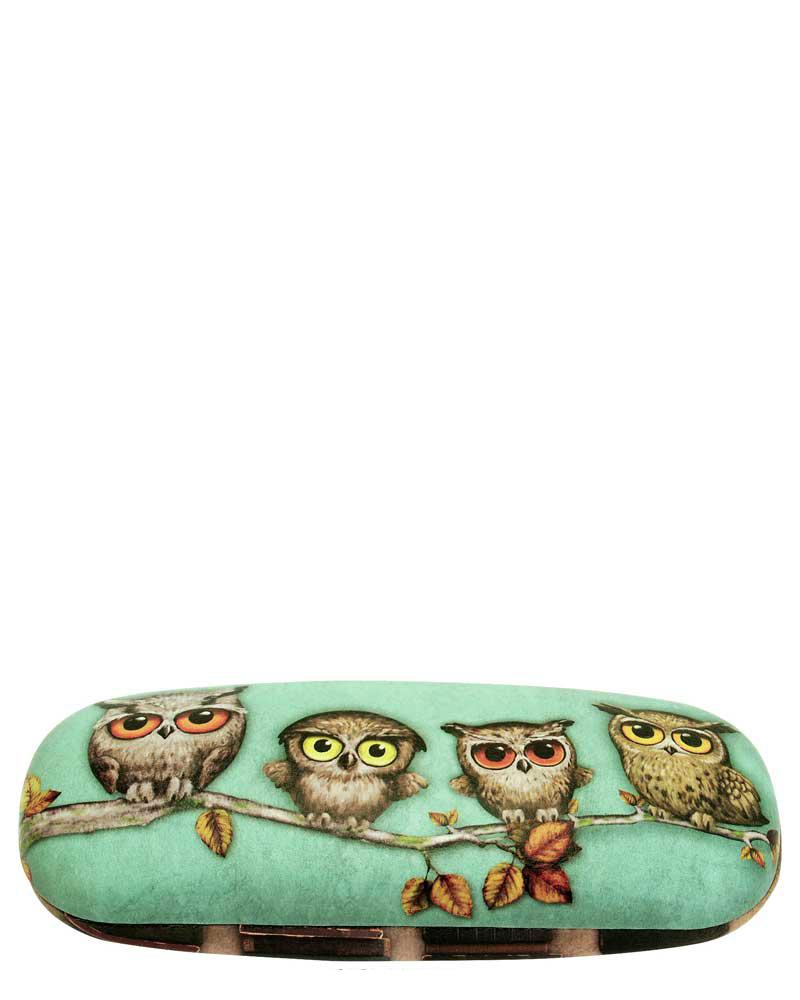 Santoro London - Pouzdro na brýle - Book Owls