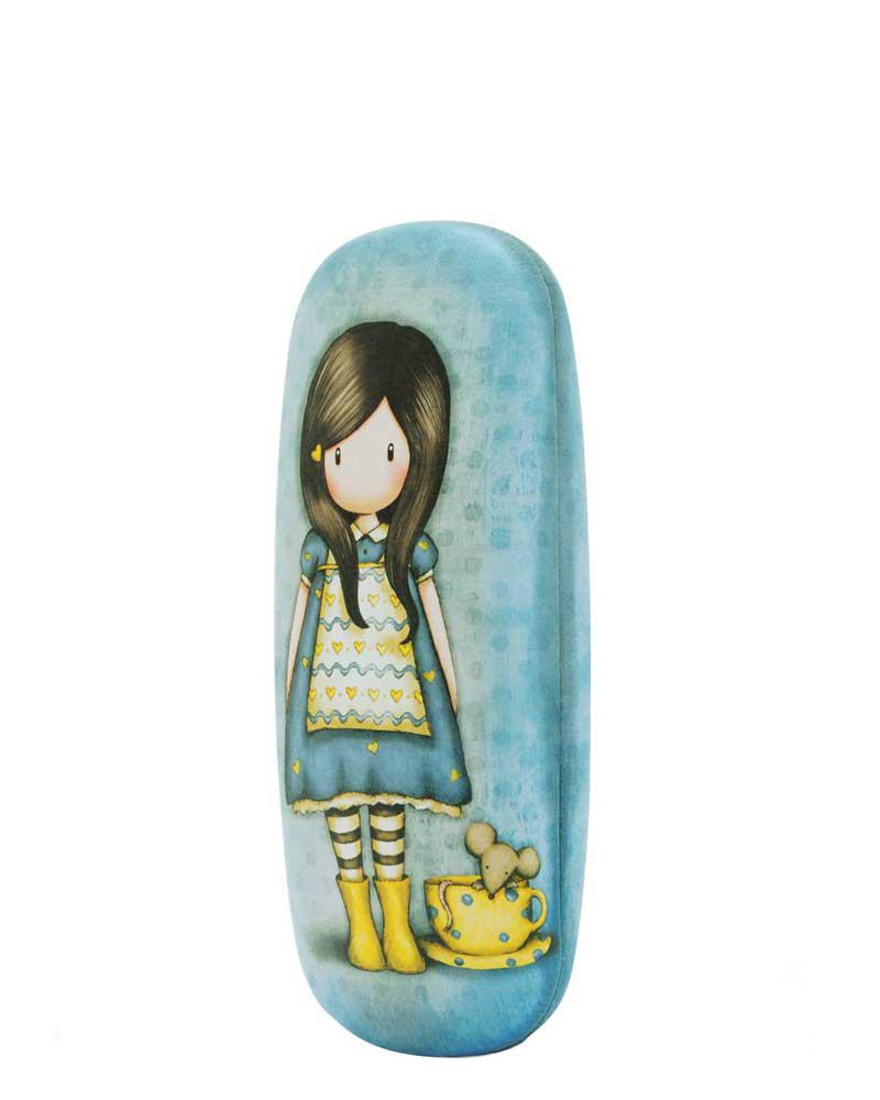 Santoro London - Pouzdro na brýle - Gorjuss - Little Friend Modrá;Modrá