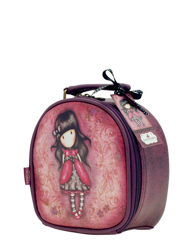 Santoro London - Kosmetický kufřík (malý) - Gorjuss - Ladybird Vínová;Vínová