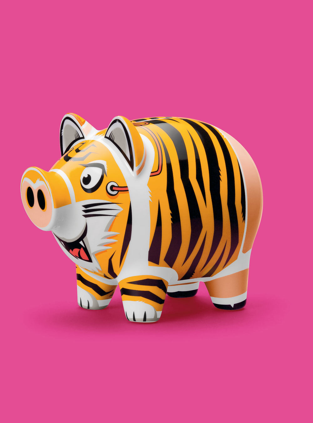Ritzenhoff - Kasička porcelánová (Prasátko) - Piggy bank - Oliver Hartman
