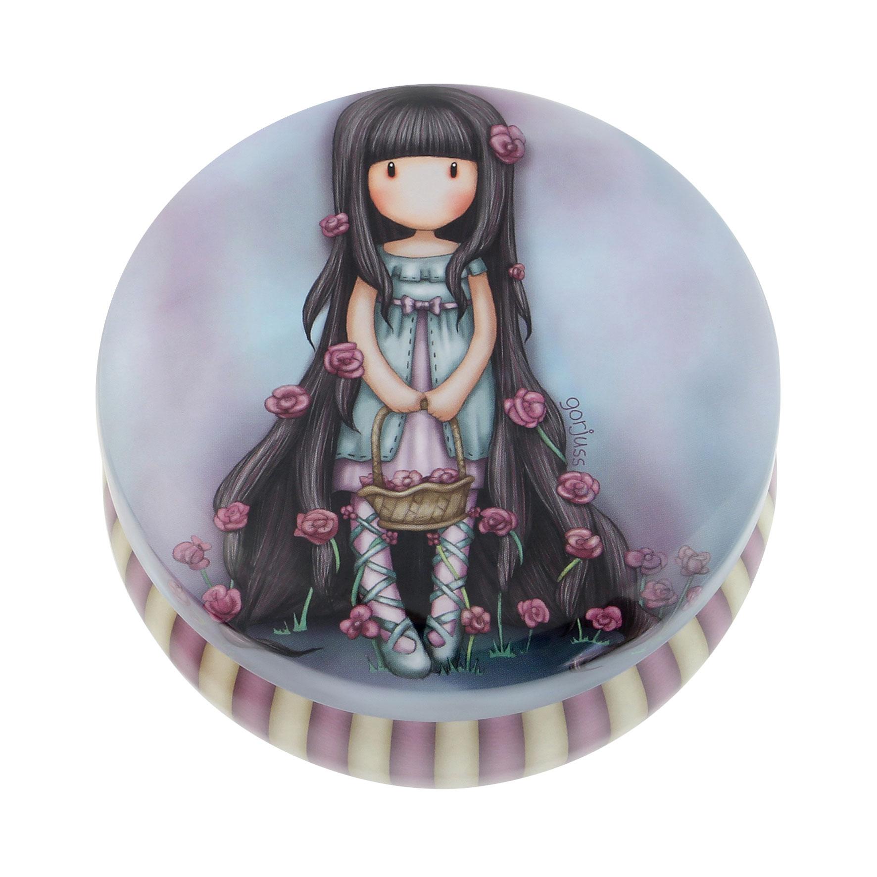 Santoro London - Kulatá Dekorativní krabička - Gorjuss - Rosie
