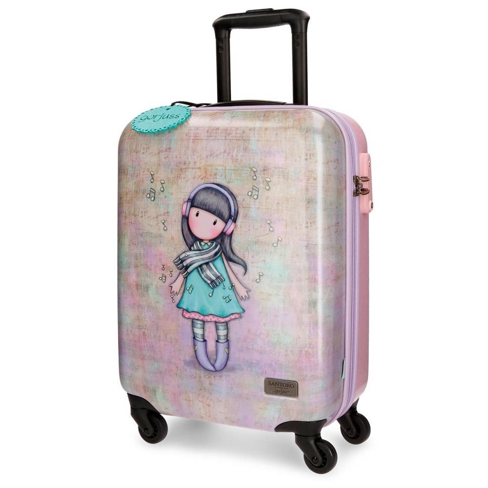 Santoro London - Cestovní kufr na kolečkách 33l- Gorjuss - Lost in Music - 37x55x20 cm