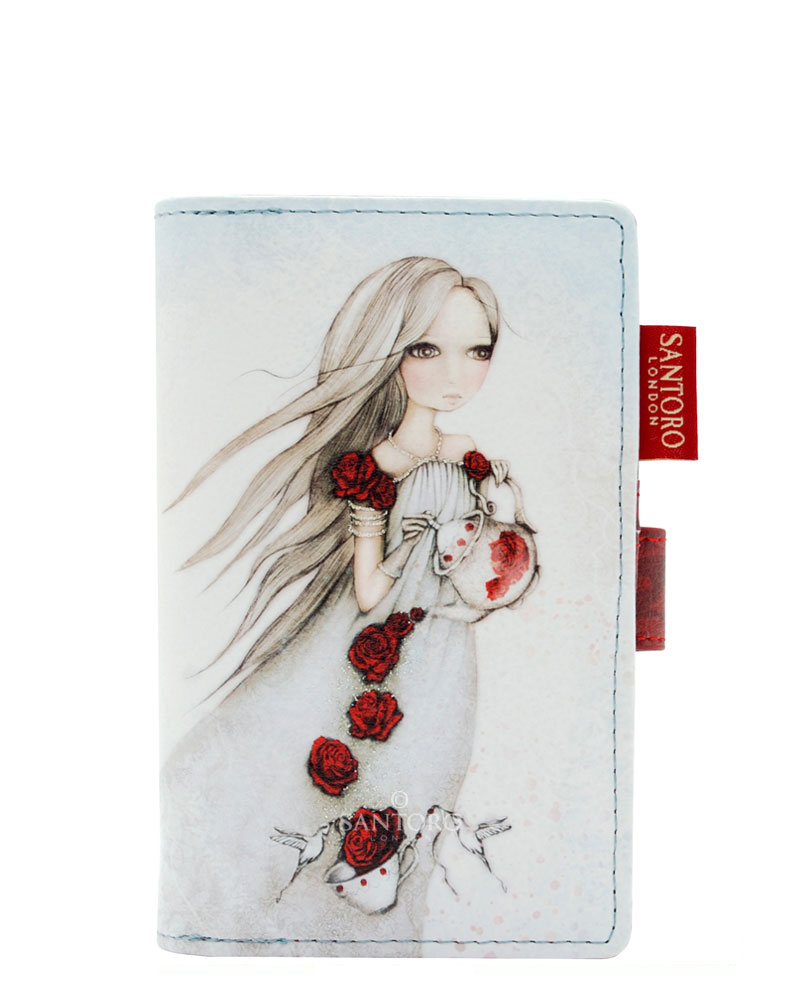 Santoro London - Peněženka (střední) - Mirabelle - Rose Tea