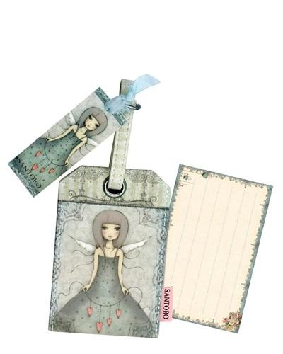 Santoro London - Visačka na kufr - Mirabelle - Butterfly