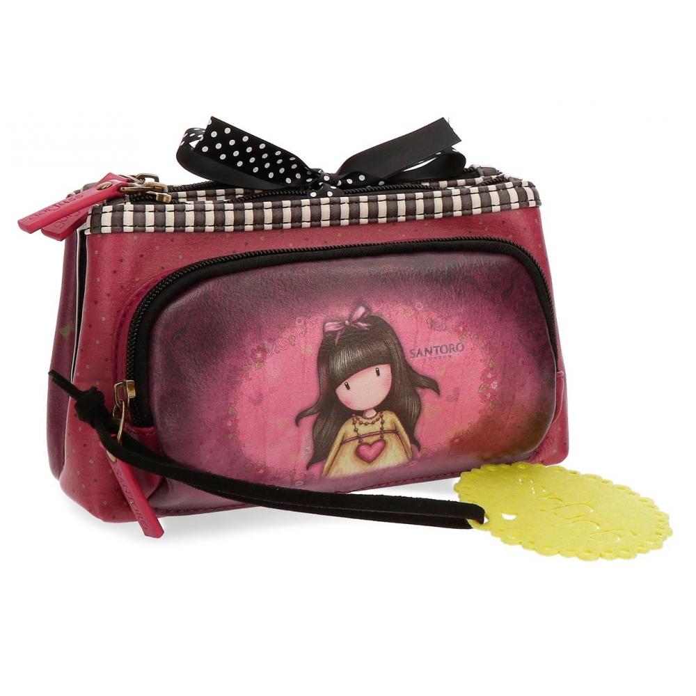 Santoro London - Kosmetická taška (Třídílná) - Gorjuss - Heartfelt