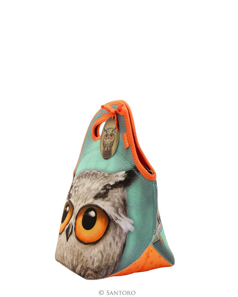 Santoro London - Neoprén ételhordó - Book Owls - PERIPETIE.cz ceb5c2befe7