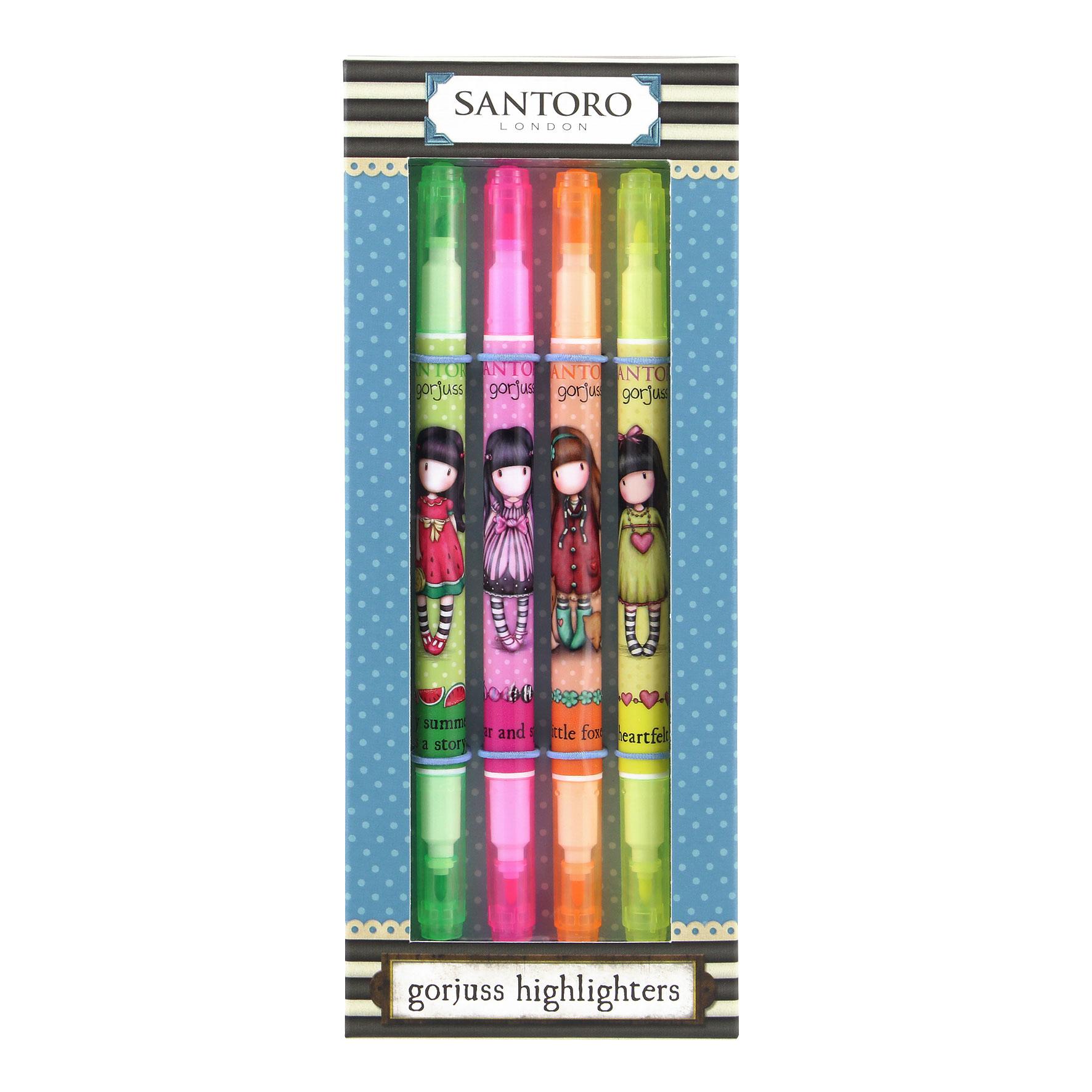 Santoro London - Zvýrazňovače set - Gorjuss 2