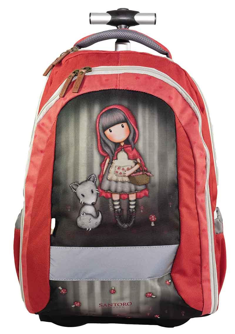 Santoro London - Batoh školní na kolečkách 31l - Gorjuss - Little Red  Riding Hood 3c6f8f9f74