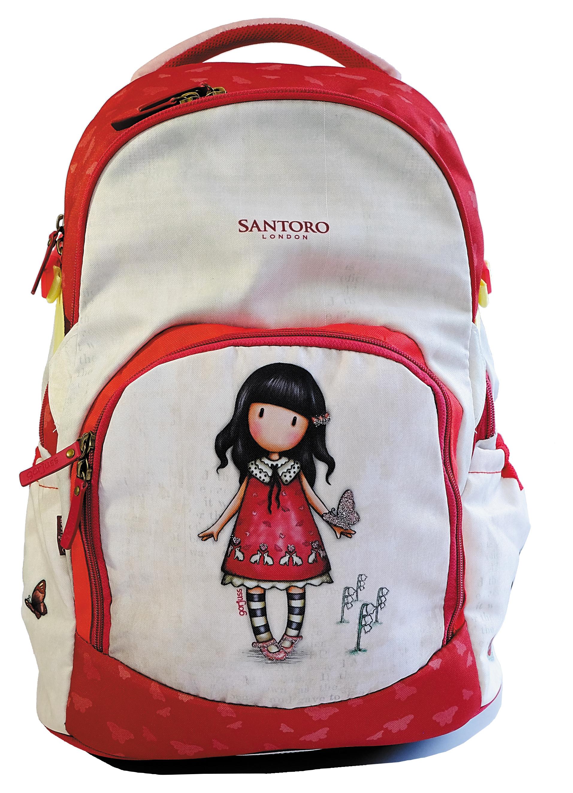 Santoro London - Batoh školní 25l - Gorjuss - Time To Fly