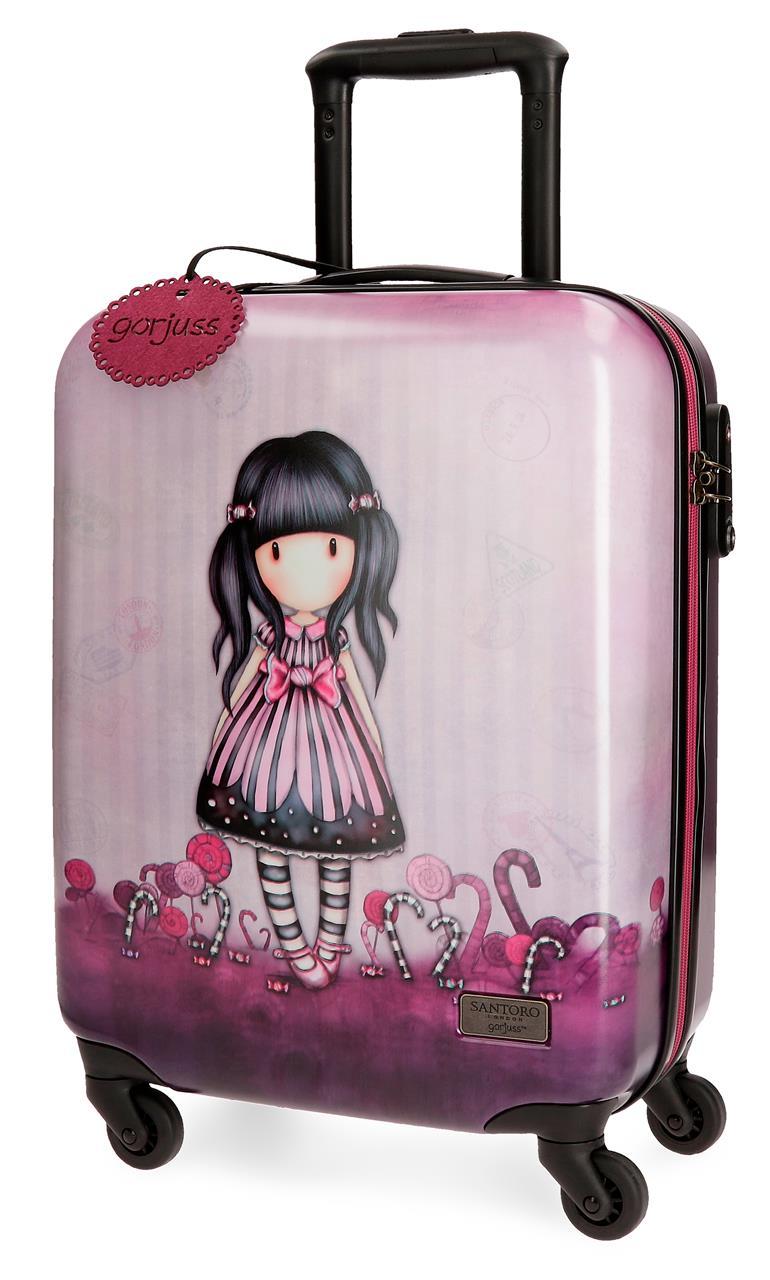 Santoro London - Cestovní kufr na kolečkách 33l- Gorjuss - Sugar and Spice - 37x55x20 cm