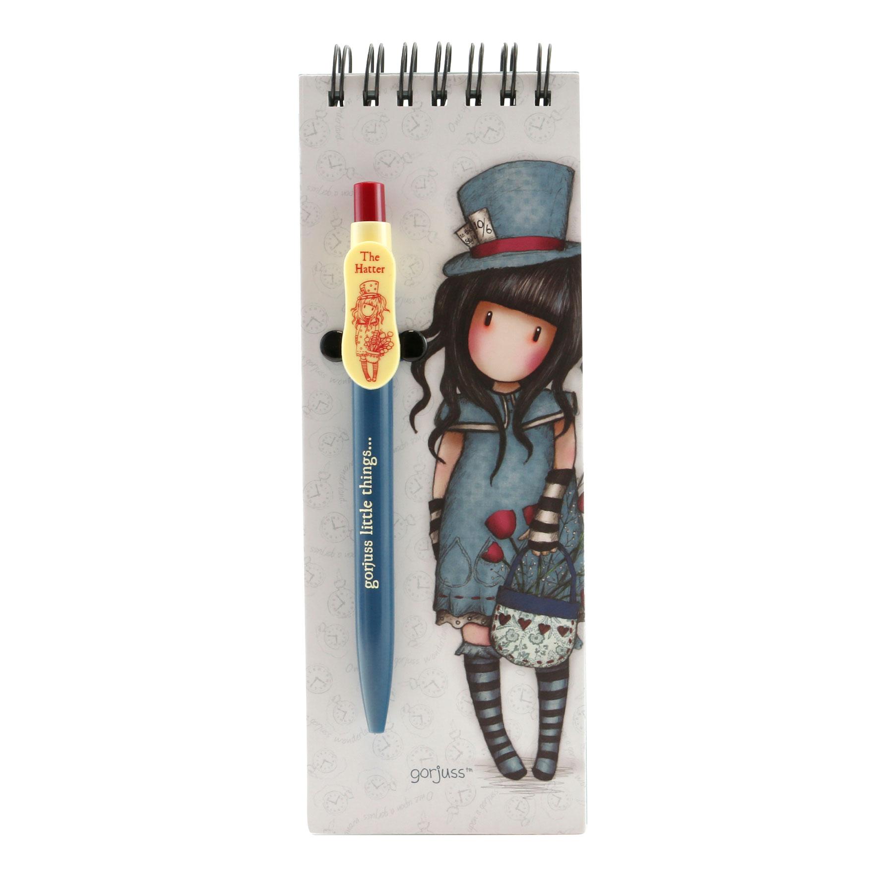 Santoro London - Zápisník s propiskou (malý) - Gorjuss - Little Red Riding Hood (1)