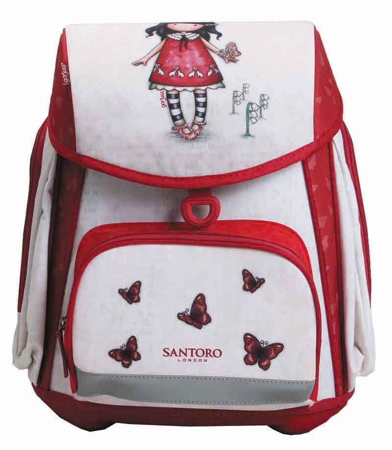 Santoro london - Plecak szkolny anatomiczny 25l - Gorjuss - Time To Fly