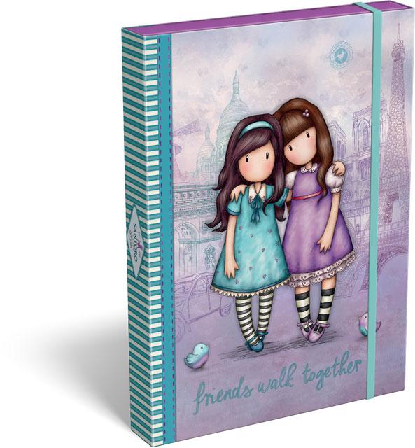 Santoro London - Box na dokumenty A4 - Gorjuss - Friends Walk Together