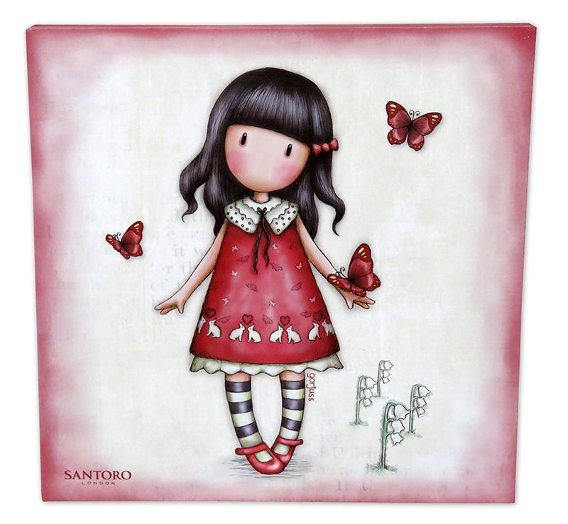Santoro London - Dekorační Obrazek 25x35cm - Gorjuss - Time To Fly
