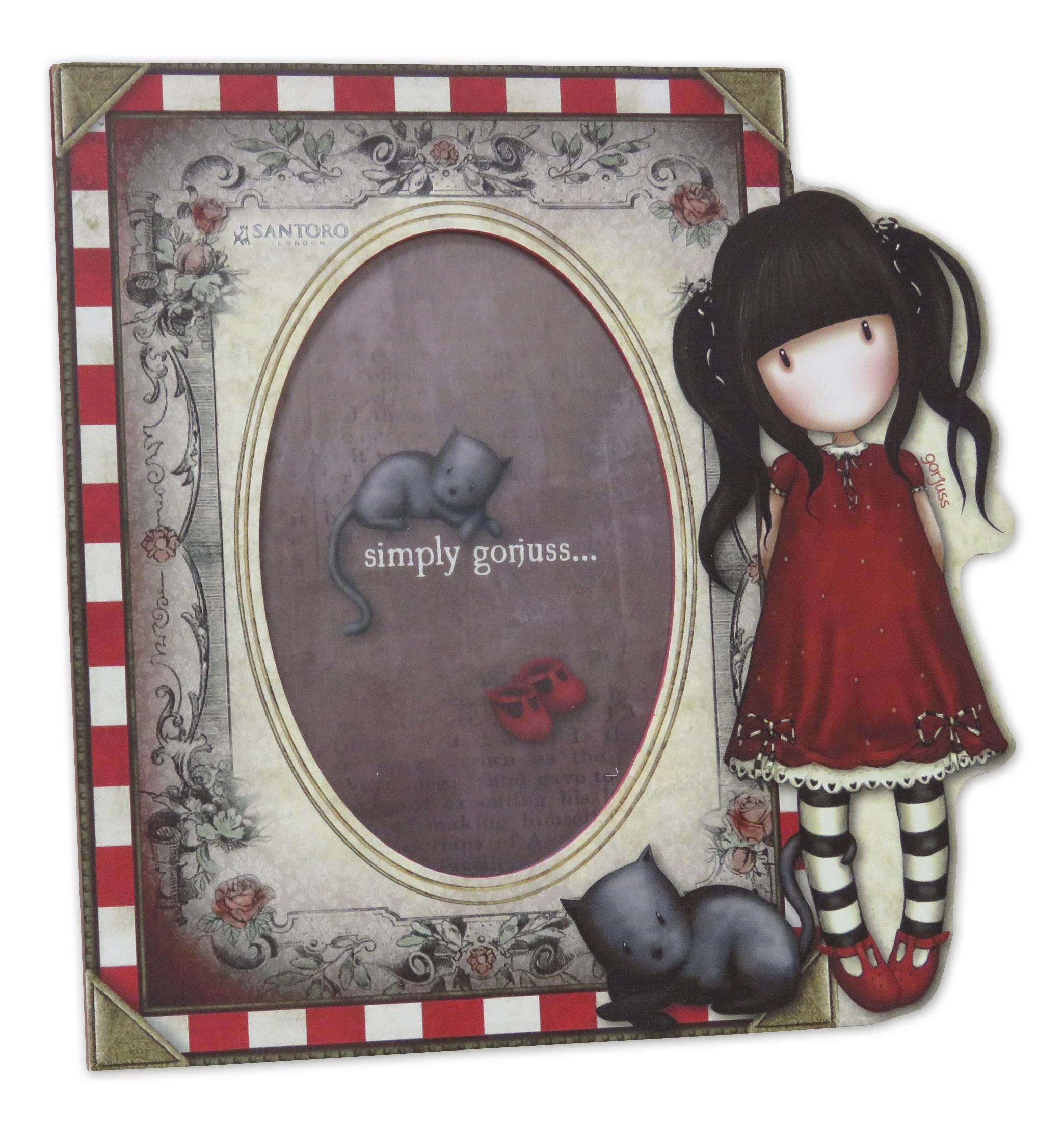 Santoro London - Fotorámeček 20,4x20,4 cm- Gorjuss - Ruby